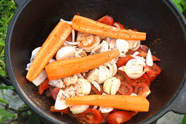 добавление моркови