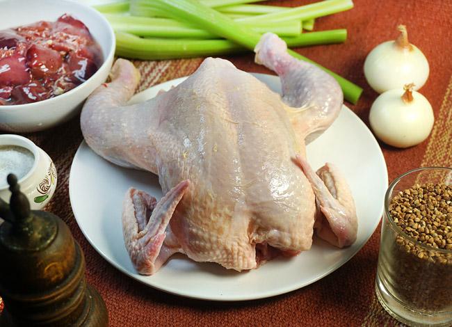 подготовка курицы к запеканию