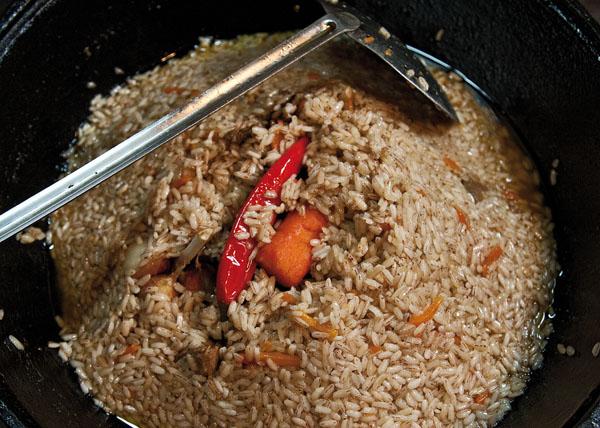 подготовка рисового слоя для постановки на упревание