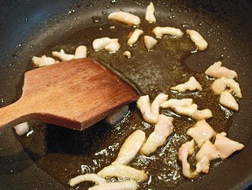 ароматизация масла салом для последующей жарки