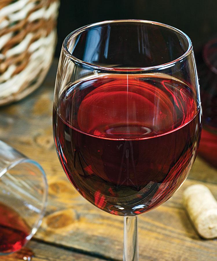 молодое вино из красной смородины
