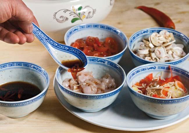 маринование заправочных компонентов для супов