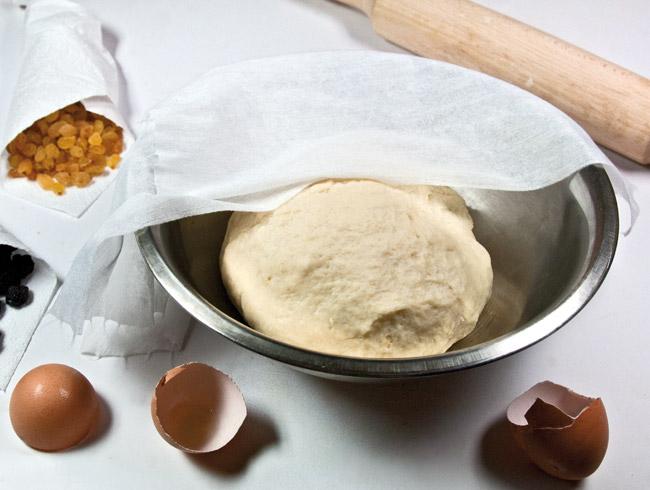 расстойка теста для сладкого чебурека ляваш